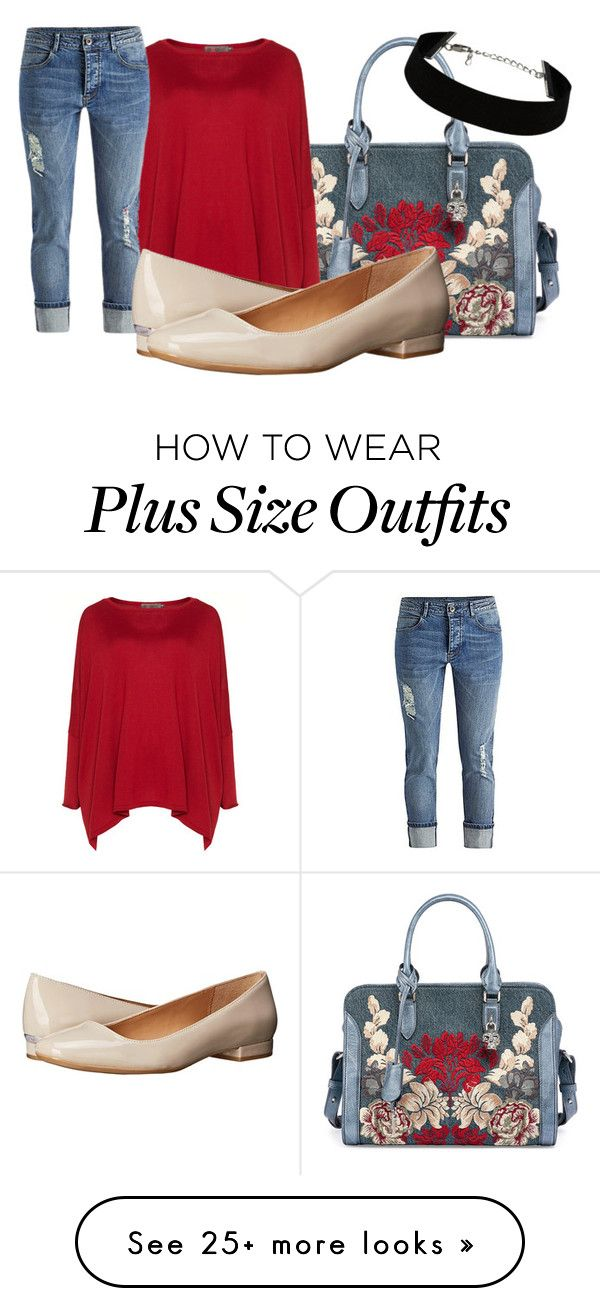 """""""#denim"""" by bessieelna on Polyvore featuring Alexander McQueen, Exelle, Calvin Klein, women's clothing, women, female, woman, misses and juniors"""