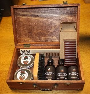 Anything for the beard: oils, grooming kit, balms, beard wash. They're all always welcome for any occasion.