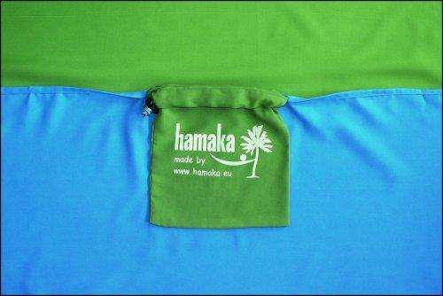 Houpací síť Hamaka modro-brčálovo-modrá výprodej