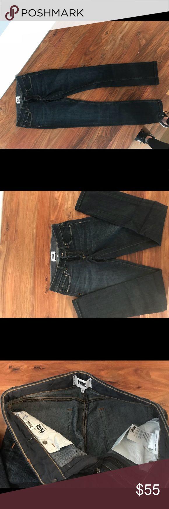 I just added this listing on Poshmark: Paige Premium Denim Straight Leg women's. #shopmycloset #poshmark #fashion #shopping #style #forsale #PAIGE #Denim