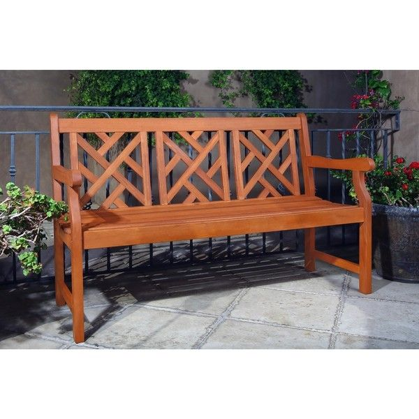 Atlantic Bench (215 AUD) ❤ Liked On Polyvore Featuring Home, Outdoors, Patio
