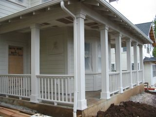 porch posts and columns the following photos a