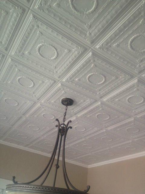 103 best White images on Pinterest | Styrofoam ceiling tiles ...
