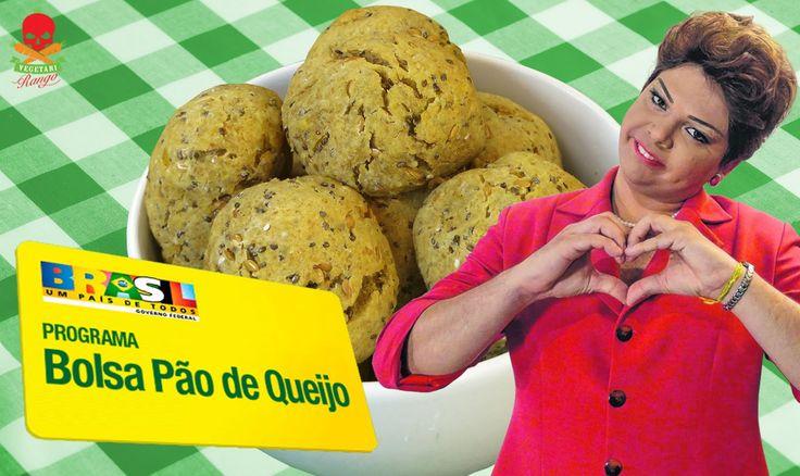 VegetariRANGO #33 - Bolsa Pão de Queijo - Part. Dilma Rousseff (Gustavo ...