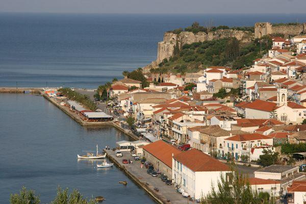 Koroni near the Castle in Messinias
