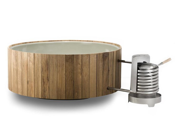 Dutchtub Wood -  Wood Fired Hot Tubs -  Iconic Dutch
