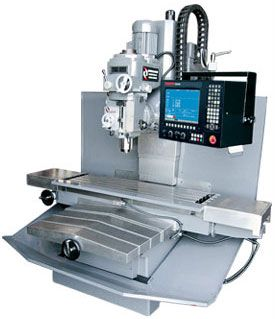 American 3-Axis CNC Bed Mill #machine #tool