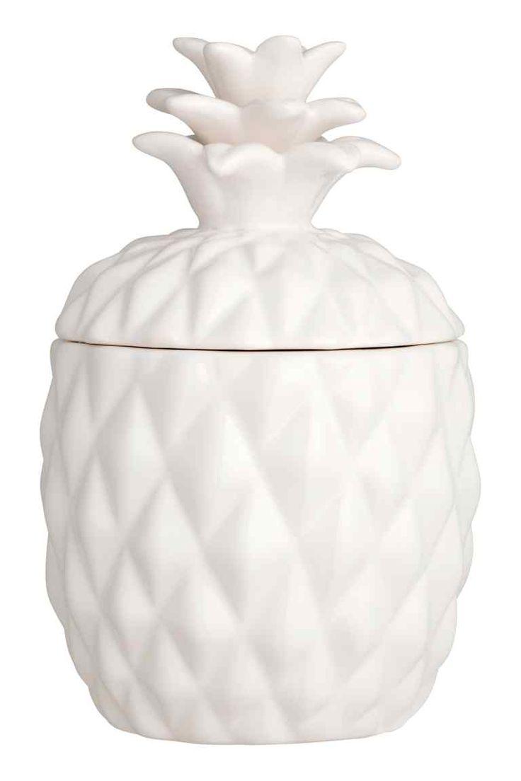 Большая свеча в керамике | H&M