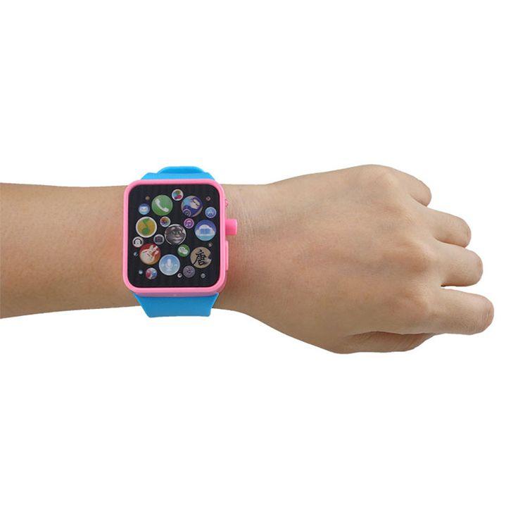 Kinder spielzeug frühförderung musik geschichten touchscreen smart watch spielzeug für kinder baby spielzeug