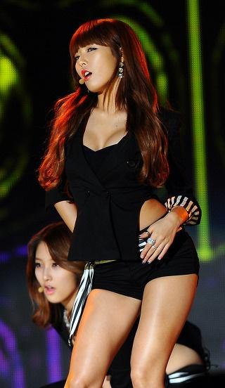 Black in Hyun-A