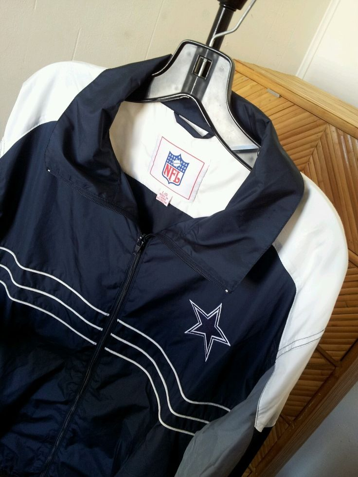 New Dallas Cowboys NFL Football Jacket Windbreaker