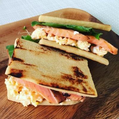 低糖質ダイエットメニューふわふわ高野豆腐サンドイッチレシピ