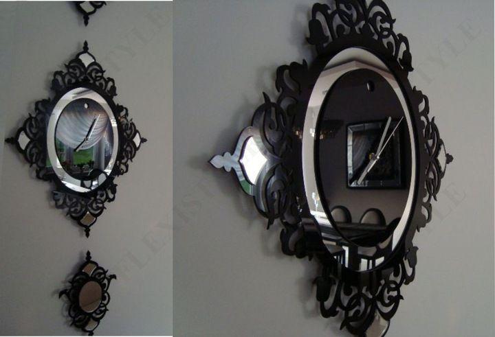Nowoczesny Wielki Zegar Scienny Glamour 145cm Clock Cuckoo Clock Wall Clock
