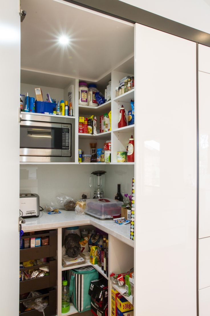 Walk in pantry. www.thekitchendesigncentre.com.au