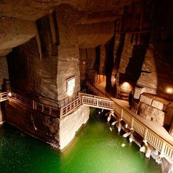 Best Salt Mines Images On Pinterest Rivers Architecture - Lake erie salt mines