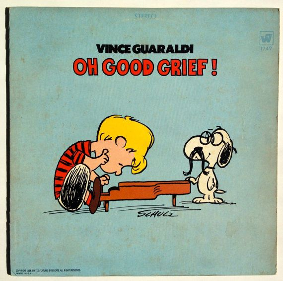 Vince Guaraldi Oh Good Grief Lp Vinyl Record Album