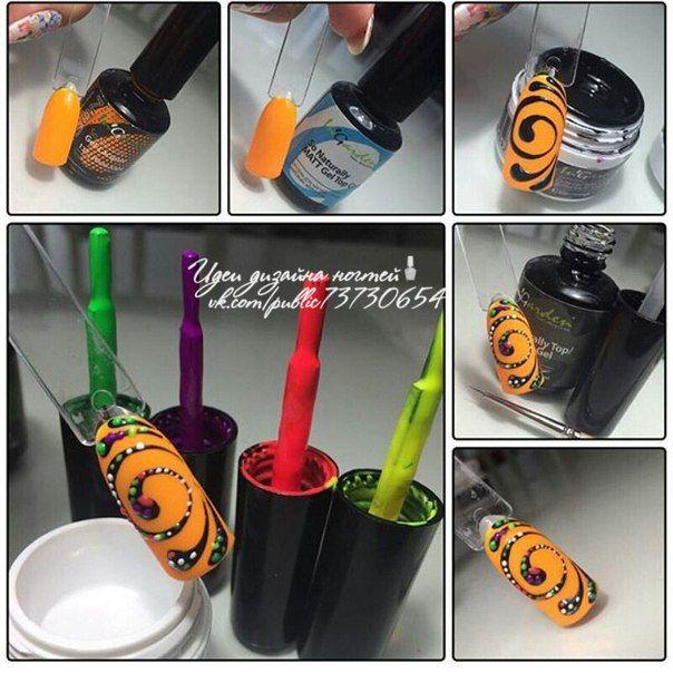 @pelikh_МК Пошаговые уроки дизайна ногт..