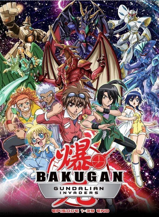 Dvd anime bakugan battle brawlers season 3 bakugan gundalian invaders vol 1 39 seasons all - Bakugan saison 4 ...