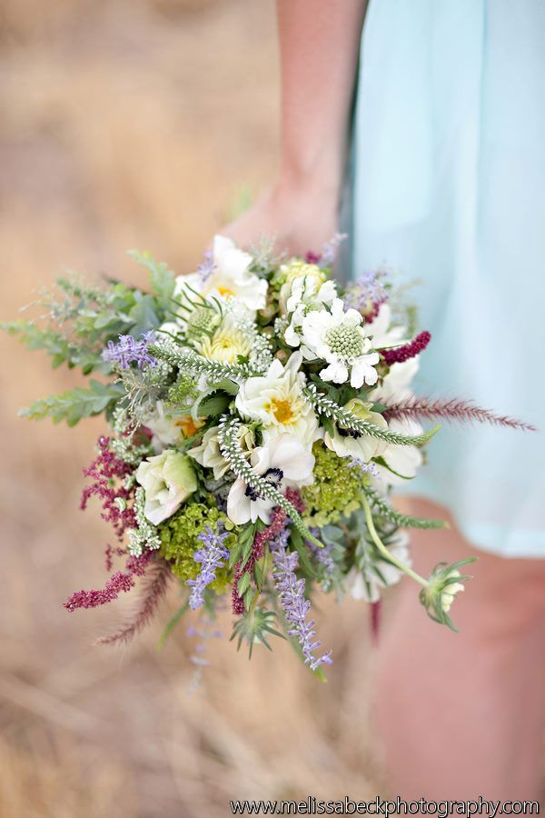 Wildflower Bouquet | this heavenly wildflower bouquet is comprised of home grown perennial ...