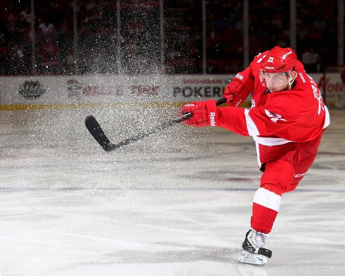 Tomas Tatar #21 Detroit Red Wings