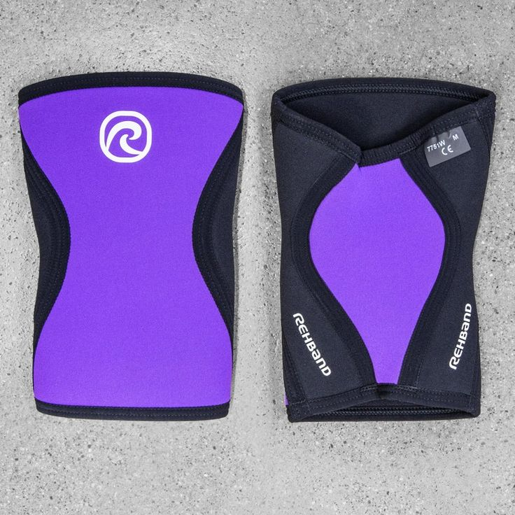 These 5mm thick neoprene knee compression sleeves deliver consistent support with a unique level of flexibility. Now in Purple. Get yours at Rogue today!