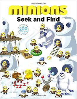 Minions Seek & Find Book NEW Christmas Gift FAST & FREE Shipping*