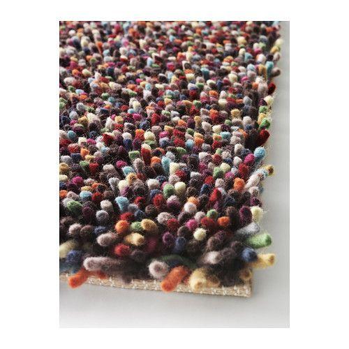 ÖRSTED Rug, high pile, multicolour