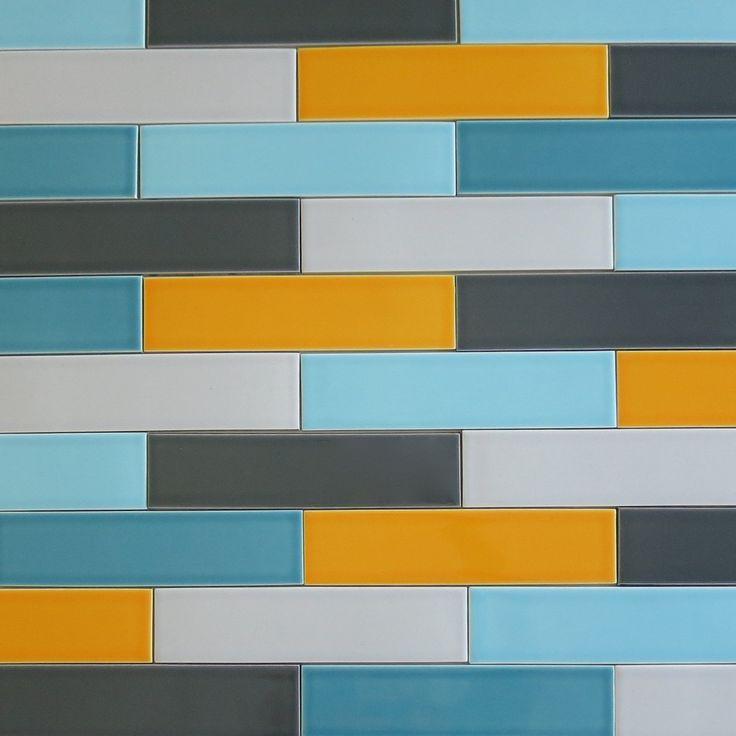 orange ceramic tile 154 best subway tile images on pinterest subway tiles glass