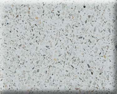 Kitchen Counter Detail-- Caesarstone Quartz Reflections