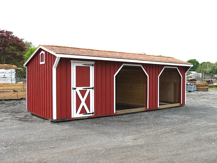 87 best images about barn on pinterest tack rooms run for Small shed kits
