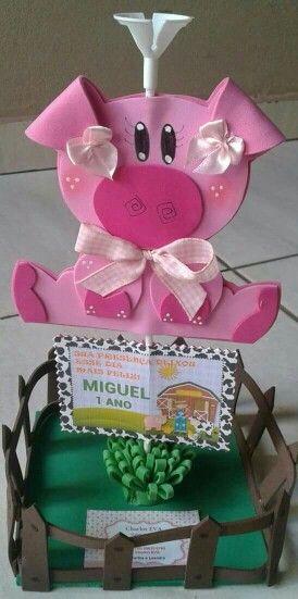 Fazendinha do Miguel ( centro de mesa)