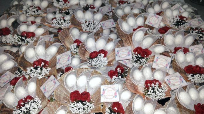 Deniz Kabuğu Nikah Şekeri Modelleri, Yapımı ve Malzemeleri