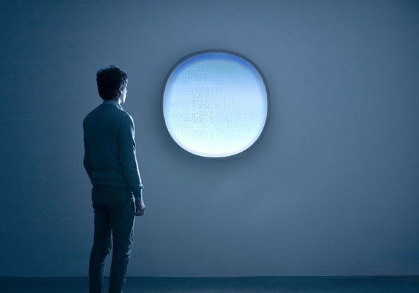 """""""Demain est un Autre Jour"""" station météo vidéo qui chaque jour donne une image précise du temps qu'il fera le lendemain - Mathieu Lehanneur"""