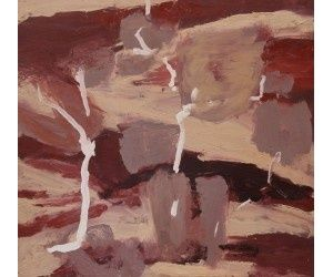 Pilbara Patchwork  2014  56X59cm