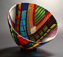 Glass Artist Doug Randall video link   plus a fliickr link to his incredible work.