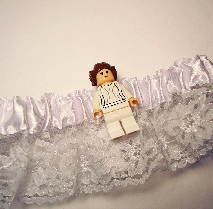 @Emily Schoenfeld Taylor Princess Leia LEGO Garter: