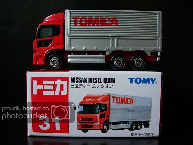 031 040 Tomica Collection Nissan Diesel Car Collection Toy Car