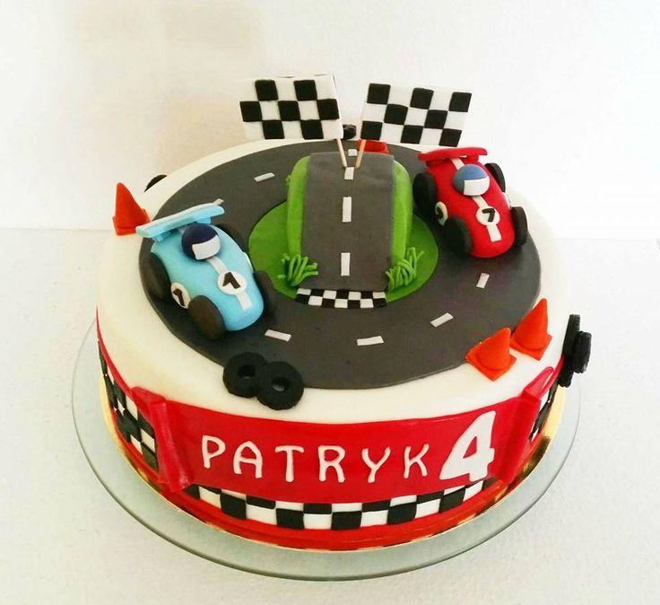 Tort formuła 1, wyścigi/ Racing cake, F1 cake