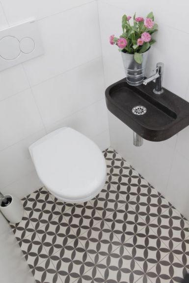 LOVE the floor tiles - VN Circle of life (blanc) Zementfliesen von Designfliesen.de