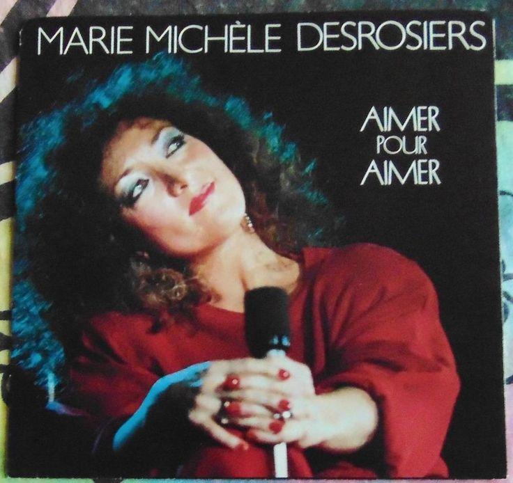 MARIE MICHELE DESROSIERS (BEAU DOMMAGE)...AMER POUR AIMER & LIVE...1984...HEAR #CLASSICROCKPOPEASYLISTENINGROCKNROLLPOPVOCALSWORLDMUSICCHANSON