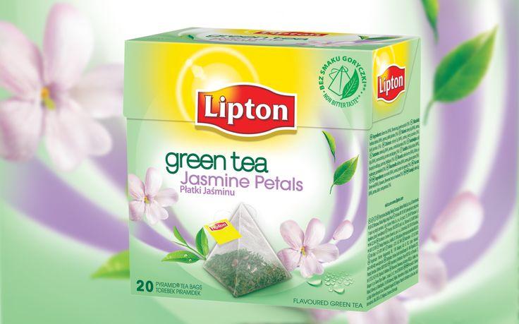 Lipton Green Tea Płatki Jaśminu
