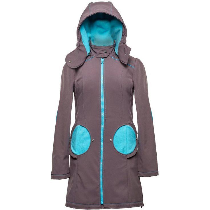 Liliputi® Babywearing Mama Coat - Grey-turquoise  http://www.liliputibabycarriers.com/babywearing-mama-coat/mama-coat-grey-turquoise