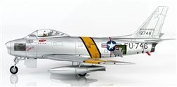 Hobby Master HA4315 USAF North American F-86E Sabre Jet Fighter - Maj. William Wescott / Col. Francis Gabreski, 25th Fighter Interceptor Squadron, October 1951 (1:72 Scale)