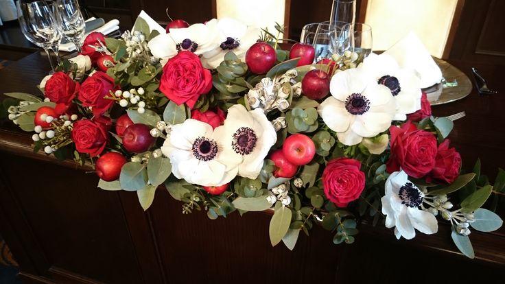 #NOVARESE#VressetRose #Wedding #red#tablecoordinate#Guesttable#bordaux #natural #Flower #Bridal #ノバレーゼ#ブレスエットロゼ #旧桜宮公会堂#ウエディング# 赤#りんご #ボルドー#レッド #シンプル # メインテーブル #テーブルコーディネート # ブライダル#結婚式