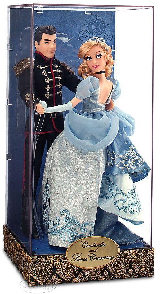 Disney Fairytale Designer Collection Cinderella and Prince Charming Doll Set NEW #DisneyStore