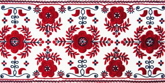 "The matyó style of Hungarian embroidery is recongnised by Unesco as part of ""the cultral heritage of humanity"" More..."