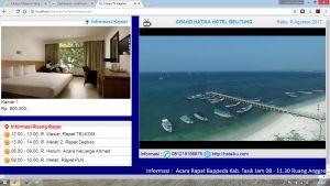 Papan Informasi Hotel / Informasi Pariwisata