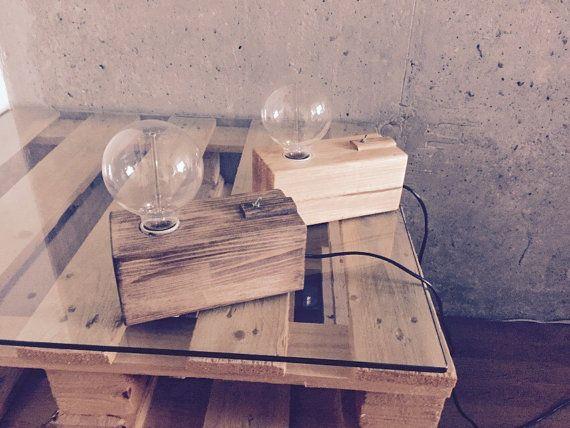 Wood+lamp.+Edison+lamp.+Vintage+lamp.+Retro+wooden+lamp.+Edison+bulb.+Interior+lamp.+Gift+lamp