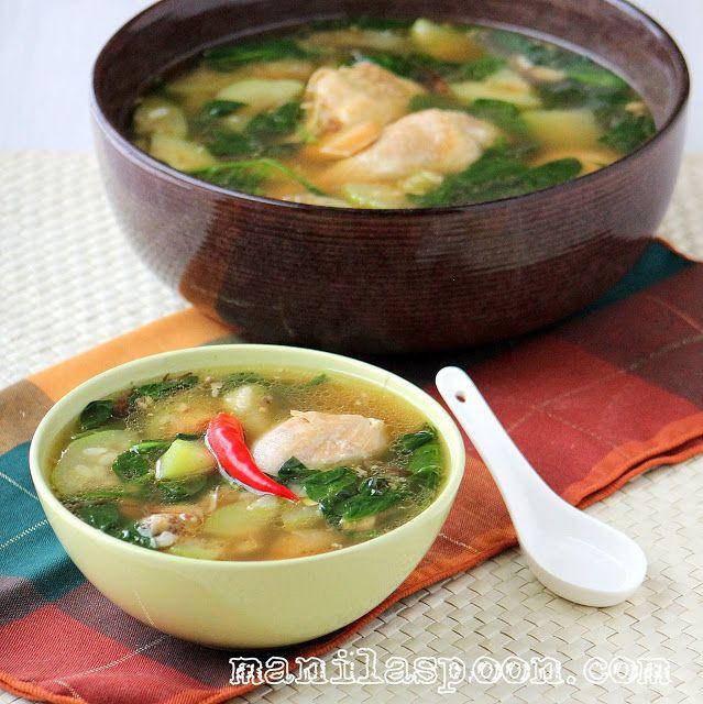 Tinolang Manok (Opo Squash and Ginger Chicken Soup) | Manila Spoon