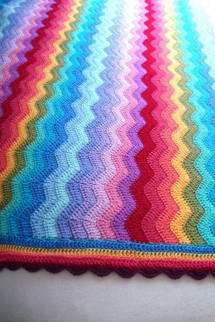 54 Best Crochet Easy Ripple Images On Pinterest